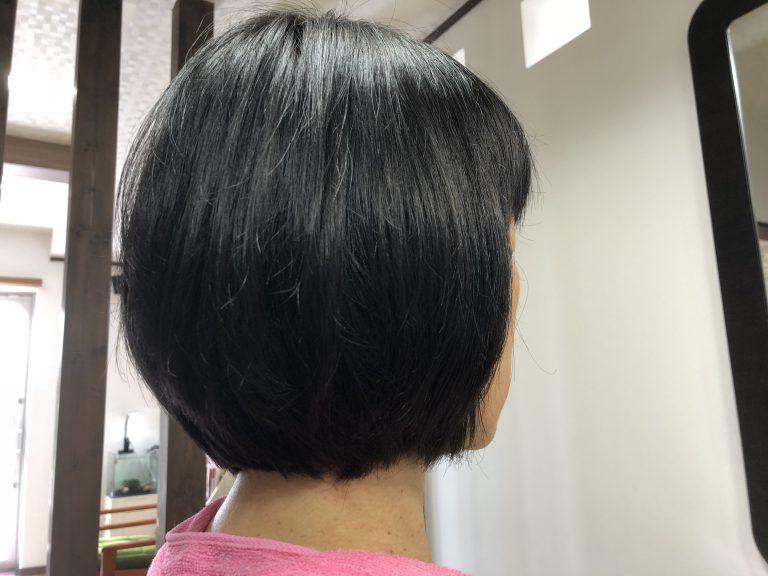 髪が伸びるとおさまらない。阿南市 羽ノ浦 美容室 アーティー