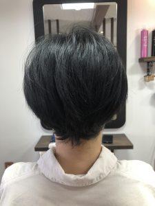 阿南市 羽ノ浦 美容室 アーティ くせ毛 お手入れ簡単 ショート 30代