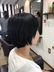 阿南 羽ノ浦 美容室 アーティ ショート くせ毛