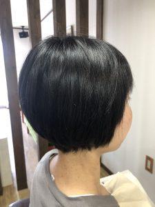 阿南 羽ノ浦 美容室 アーティ くせ毛 ショート