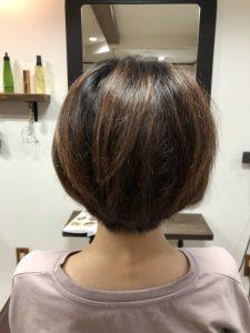 阿南市 羽ノ浦 美容室 アーティ 30代のショートスタイル くせ毛