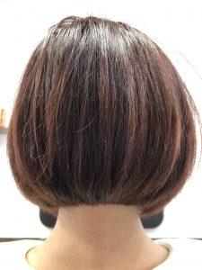 阿南市 羽ノ浦 美容室 アーティ くせ毛 お手入れ簡単スタイル ボブ 30代ヘアスタイル くせ毛