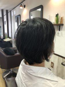 阿南市 羽ノ浦 美容室 アーティ くせ毛 お手入れ簡単 ショート くせ毛
